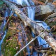 Beautiful mountain waterfall — Stock fotografie