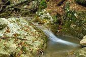 Jesień górskiej rzece — Zdjęcie stockowe