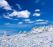 Winter-Hügel — Stockfoto