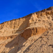 Stock Photo: Sandy wall in desert
