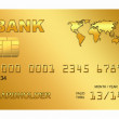 Royalty-Free Stock Photo: Stylized credit card on a white