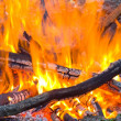 Closeup camp fire — Stock Photo #16185039