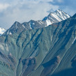 Stock Photo: Varicoloured mountain wall