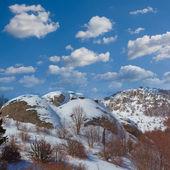 雪の丘 — ストック写真