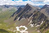 Dolina góra w górach kaukazu — Zdjęcie stockowe
