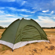 Stock Photo: Touristic camp in desert