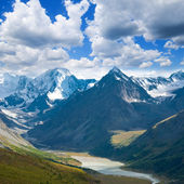 Great mountain valley altai russia — Stock Photo