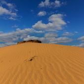 Dune in a sand desert — Stock Photo