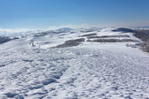 Hills in a snow — Stock Photo