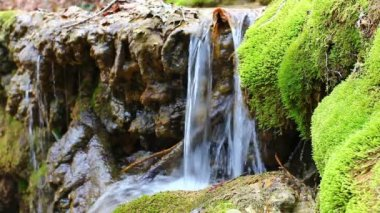 Cascate di acqua closeup — Video Stock