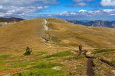 Mountain plateau scene — Stock Photo