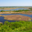 Stock Photo: Delta of vorskla river