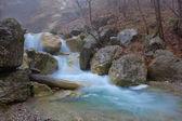 Rushing water cascades — Stock Photo