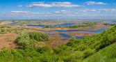 Vorskla river panorama — Stock Photo