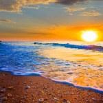 Beautiful evening at the sea — Stock Photo #30310383