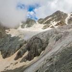 Majestic glacier — Stock Photo
