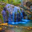 Beautiful closeup waterfall — Stock Photo