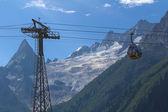 Wyciąg turystyczne w górach — Zdjęcie stockowe