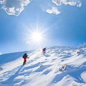 Kış yürüyüş — Stok fotoğraf