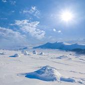 Kış sahne — Stok fotoğraf