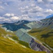 Yarly valley altai russia — Stock Photo #34199701