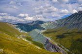 Yarly valley altai russia — Zdjęcie stockowe
