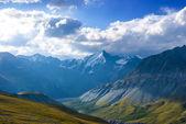 Dramatic mountain scene — Stock Photo