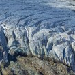 Closeup glacier — Stock Photo