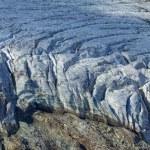 Closeup glacier — Stock Photo