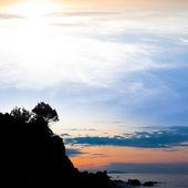 Wczesnym rankiem morzem — Zdjęcie stockowe