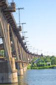 Ponte da cidade — Foto Stock
