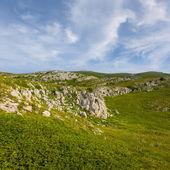 緑の山のシーン — ストック写真
