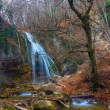 Jur-jur waterfall crimea ukraine — Stock Photo