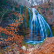 Stock Photo: Blue waterfall