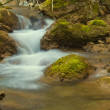 Stock Photo: Small brook in mountains
