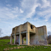 Old house ruin — Stockfoto