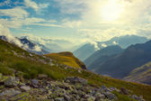 Caucasian mountains — Stockfoto