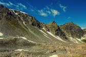 Caucasian mountain scene — Foto de Stock