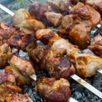 Closeup barbecue — Stock Photo #46298055