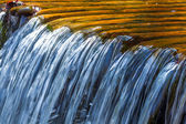 Closeup rushing water — Stock Photo