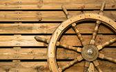 Rueda de madera antigua — Foto de Stock