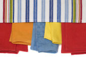 Multicolored Towels — Stock Photo