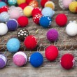 Multi-colored easter eggs — Stock Photo #13937704