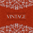 Beautiful vintage pattern — Vector de stock #12307827