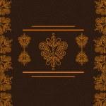 Beautiful vintage pattern — Stock Vector