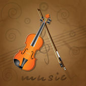 Violin — Stock Vector