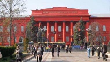 Taras Shevchenko National University in Kyiv — Stock Video