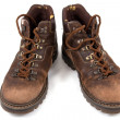 Worn boots on isolated — Stock Photo #19916441