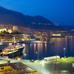 Monaco at night — Stock Photo
