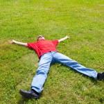Man relaxation — Stock Photo #27612709